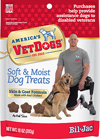 VetDogs treats bag.