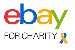 Ebay for charity logo.
