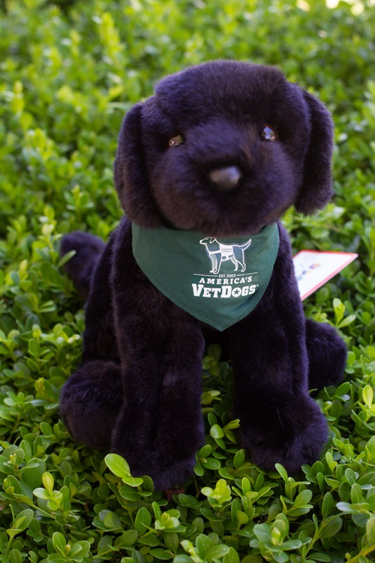Item Detail Guide Dog Foundation Black Plush Puppy In Bandana